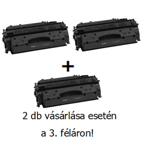 Utángyártott 2+1db féláron Akció Canon CRG 719H - 6.400 oldal