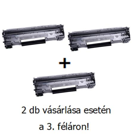 Utángyártott 2+1db féláron Akció Canon CRG 725 - 1.600 oldal