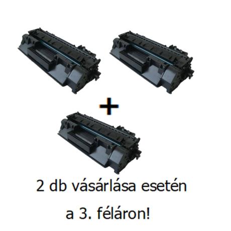Utángyártott 2+1db féláron Akció HP 80A (CF280A) - 2.700 oldal