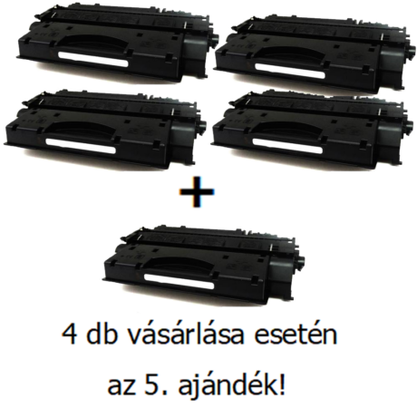 Utángyártott 4+1db AKCIÓ Canon C-EXV 40 - 6.000 oldal