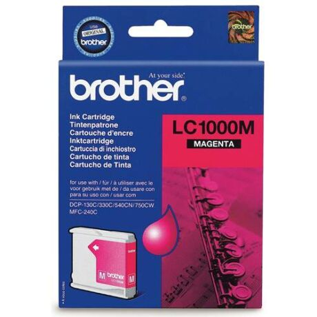 Eredeti Brother LC 1000 magenta - 400 oldal