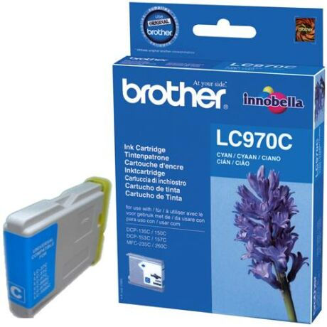 Eredeti Brother LC 970 cyan - 300 oldal