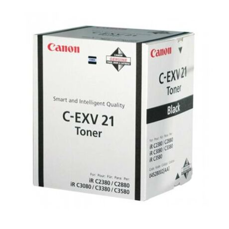 Eredeti Canon C-EXV 21 bk - 26.000 oldal