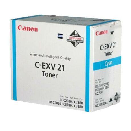 Eredeti Canon C-EXV 21 cyan - 14.000 oldal