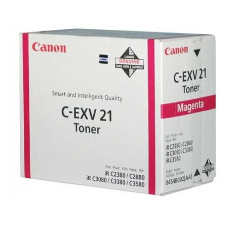 Eredeti Canon C-EXV 21 magenta - 14.000 oldal