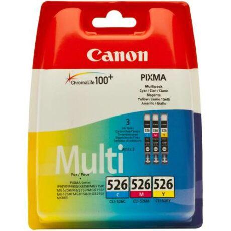 Eredeti Canon CLI-526 CY+MA+YE