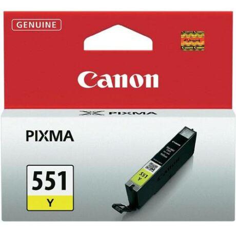 Eredeti Canon CLI-551 sárga - 7ml