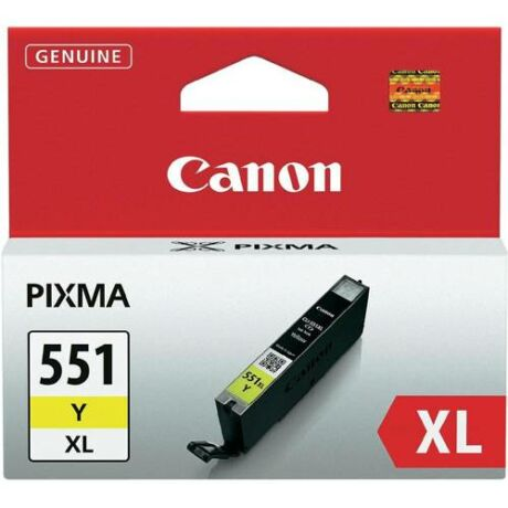 Eredeti Canon CLI-551XL sárga - 11ml