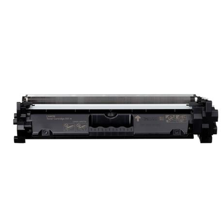 Utángyártott Canon CRG 051H fekete - 4100 oldal
