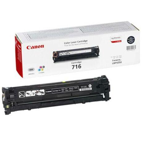Eredeti Canon CRG 716 fekete - 2.300 oldal
