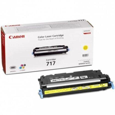 Eredeti Canon CRG 717 yellow (4000 oldal)