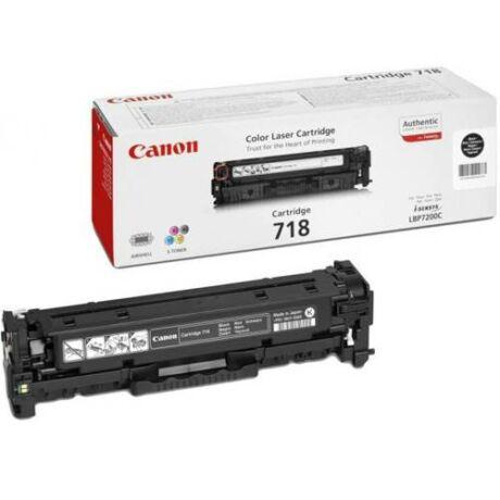 Eredeti Canon CRG-718 fekete - 3.400 oldal