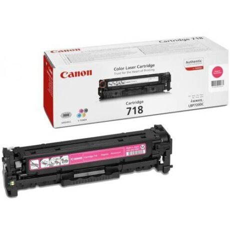 Eredeti Canon CRG-718 Magenta - 2.900 oldal