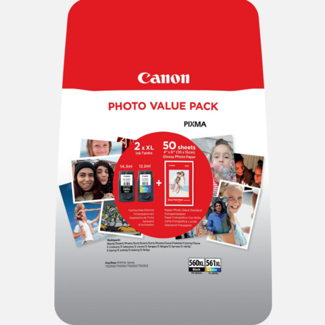 Eredeti Canon PG-560XL + CL561XL Multipack