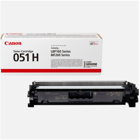 Eredeti Canon CRG 051H fekete - 4100 oldal