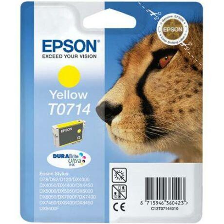 Eredeti Epson T0714 - Yellow (7,5ml)