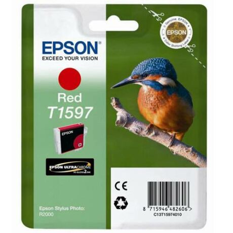 Eredeti Epson T1597 red (17ml)
