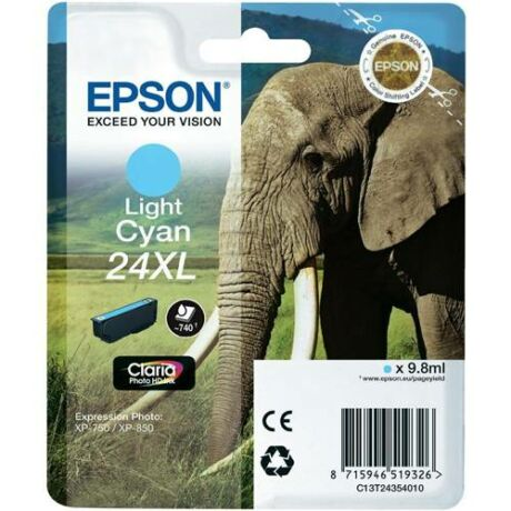 Eredeti Epson T2435 - Light cyan (9,8ml ~ 740 oldal)