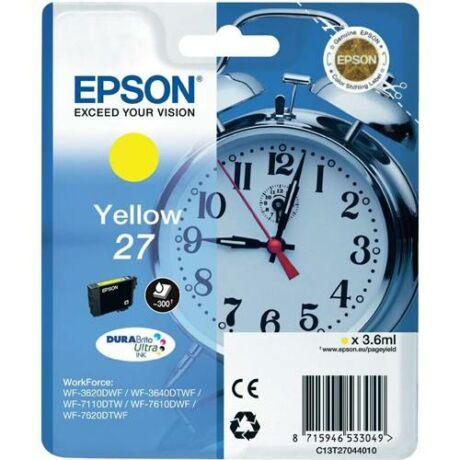 Eredeti Epson T2704 - yellow ~300 oldal