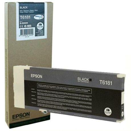 Eredeti Epson T6181 fekete ~ 8.000 oldal