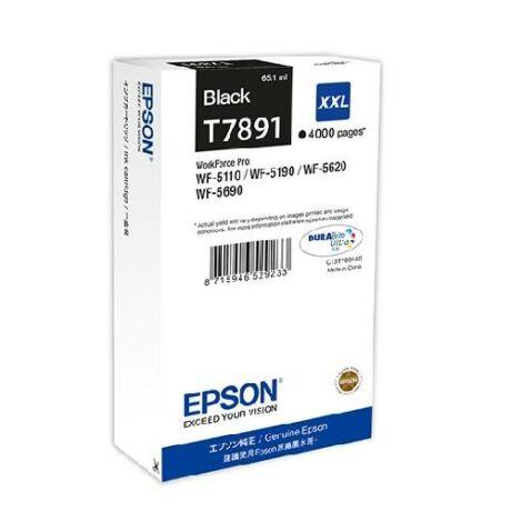 Eredeti Epson T7891 fekete - 65,1ml ~ 4.000 oldal