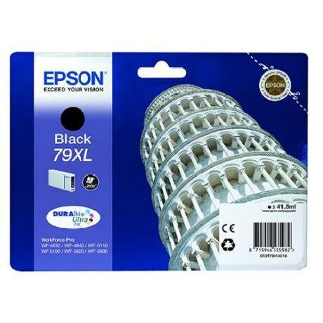 Eredeti Epson T7901 fekete - 41,8ml ~ 2.600 oldal