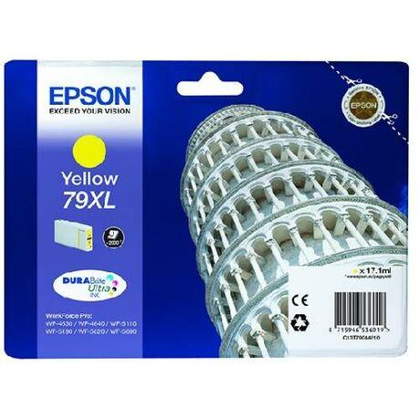 Eredeti Epson T7904 yellow - 17,1ml ~ 2.000 oldal