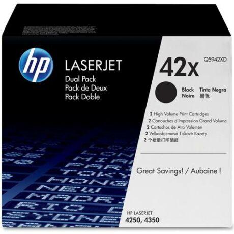 Eredeti HP 42X DUPLA (Q5942XD) - 2 x 20.000 oldal