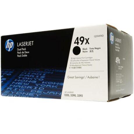 Eredeti HP 49X DUPLA (Q5949XD) - 2 x 6.000 oldal