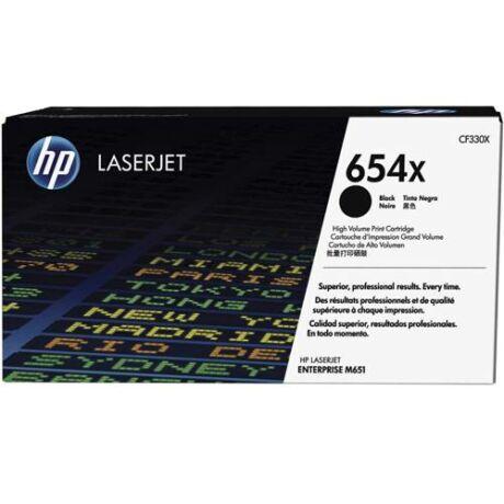 Eredeti HP 654X (CF330X) fekete - 20.500 oldal