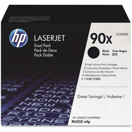 Eredeti HP 90XD (CE390XD) - 2 x 24.000 oldal