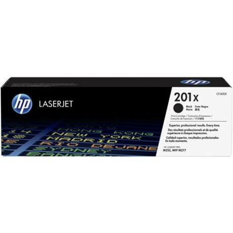 Eredeti HP 201X fekete (CF400X) - 2.300 oldal