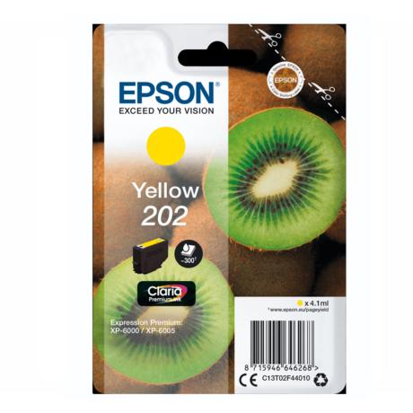 Eredeti Epson T02F4 sárga (C13T02F44010)- 4,1ml ~ 300 oldal