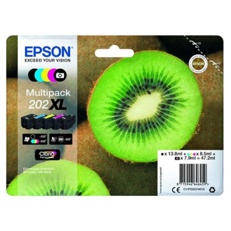 Eredeti Epson T02G7 multipack (cy,ma,ye,bk)