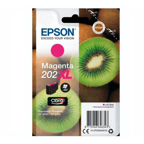 Eredeti Epson T02H3 magenta (C13T02H34010)- 8,5ml ~ 650 oldal
