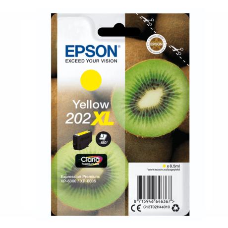 Eredeti Epson T02H4 sárga (C13T02H44010)- 8,5ml ~ 650 oldal