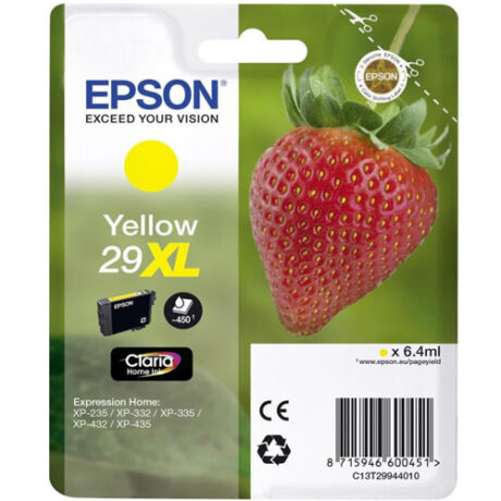 Eredeti Epson T2994 sárga - 450 oldal