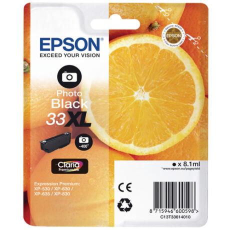 Eredeti Epson T3361 Photo fekete - 8,1 ml