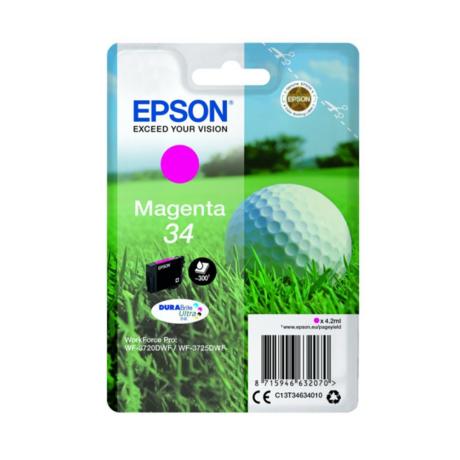 Eredeti Epson T3463 - magenta (4,2ml ~ 300 oldal)