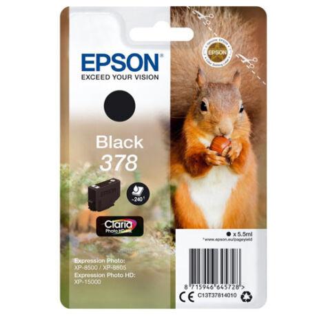 Eredeti Epson T3781 - fekete (5,5ml ~ 240 oldal)