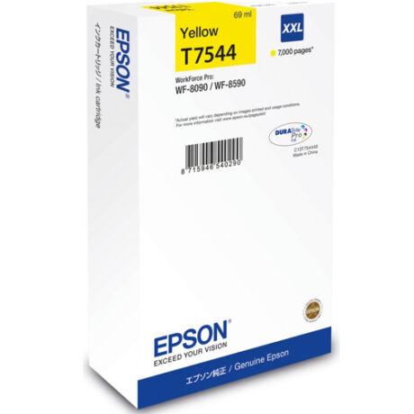 Eredeti Epson T7544 sárga - 69ml ~7.000 oldal