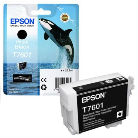 Eredeti Epson T7601 - fekete (26ml ~ 2200 oldal)