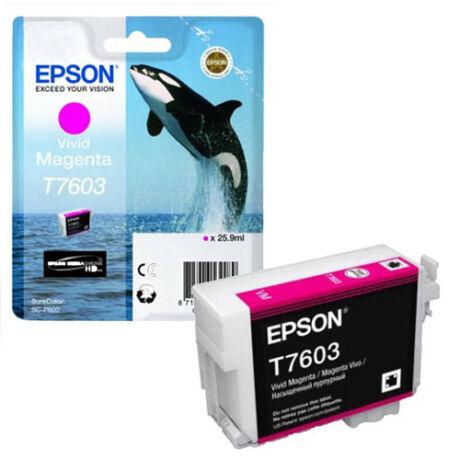 Eredeti Epson T7603 - magenta (26ml)