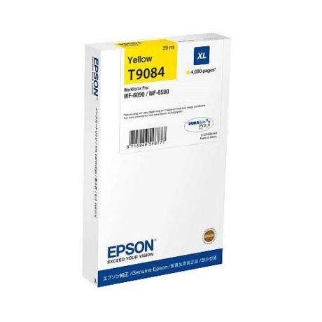Eredeti Epson T9084 yellow - 39 ml ~ 4.000 oldal