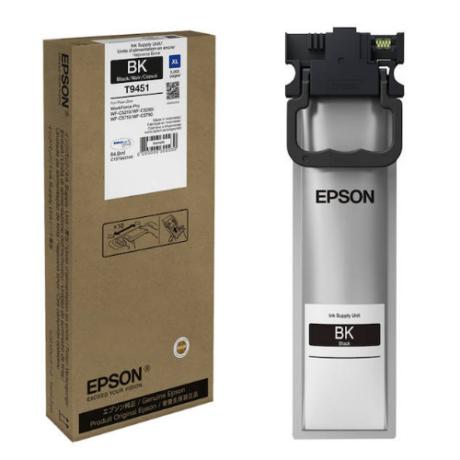 Eredeti Epson T9451 fekete - 64,6ml ~5.000 oldal